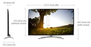 samsung 60 inch tv. dimension of ua60f6400arxum samsung 60 inch tv p