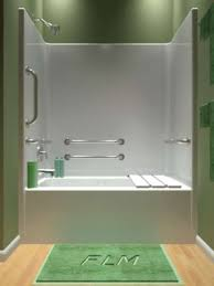 one piece whirlpool tub shower. one piece handicap tub shower combo with whirlpool