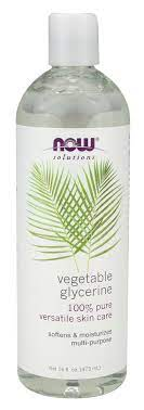 now vegetable glycerine at netrition com