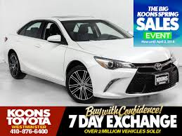 Used 2016 Toyota Camry SE w/Special Edition Pkg For Sale in ...