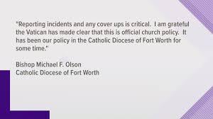 Fort Worth Bishop Responds To Popes Order