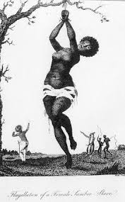 the antiblackness of modern day slavery abolitionism opendemocracy flagellation of a female samboe slave 1796 by william blake