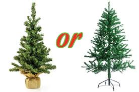 ... Lovely Ideas Cheap Artificial Christmas Tree Or Live Environmentally  Responsible Trees ...