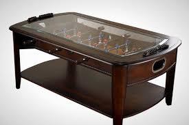 Foosball Coffee Table: It's a foosball (via Chicago Gaming)