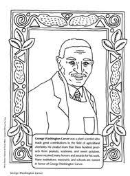 Small Picture Black History Month coloring book page of African American