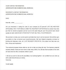 Sample Of Proposal Letters Proposal Letters Scrumps
