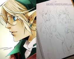 Manga Artist Akira Himekawa Teaches How To Draw Manga With Masterpiece The Legend Of Zelda Featured News Tom Shop Figures Merch From Japan