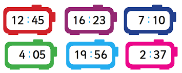 Quarter Hour Time Conversion Chart 12 Hour And 24 Hour Clock Explained For Primary School