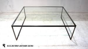 glass top end tables metal coffee table with iron base black slatted