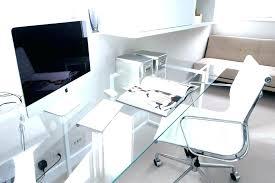 glass desks for office. Glass Office Desk Home New . Desks For