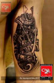 Crazy Ink Tattoo Studio On Twitter Warrior Tattoo On Biceps Done