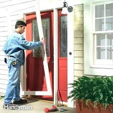 front door storm door combo door and screen door combo front door and storm door combo
