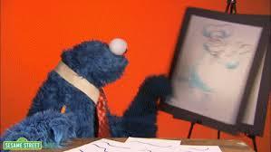 cookie monster dancing gif. Simple Monster Cookie Monster Business GIF And Dancing Gif I
