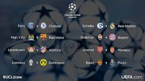champions league round of 16 draw borussia dortmund to face juventus