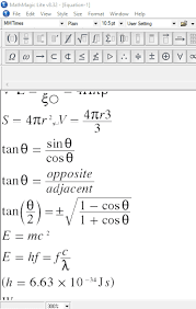 mathmagic lite is yet another free math equation editor for windows like other free math equation editors in this list this one also comes with a