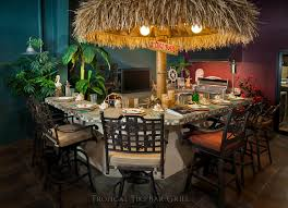 Tropical Outdoor Kitchen Designs Impressive Decoration