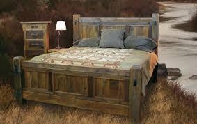Bold Idea Reclaimed Wood Bedroom Furniture Amish Sets Bathroom White
