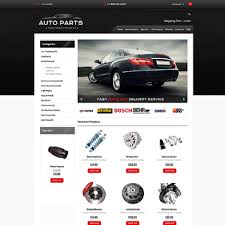 auto parts website template automotive website templates
