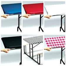 fitted outdoor tablecloth vinyl table covers round plastic tablecloths elastic with umbrella hole