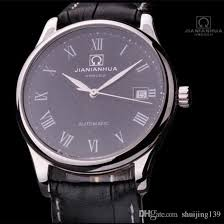 new 2015 men s brand business watch fully automatic mechanical new 2015 men s brand business watch fully automatic mechanical watch 100 meters waterproof watches men black