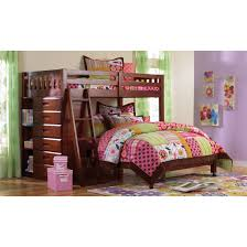 Discovery World Furniture Merlot Twin over Full Loft Bed | Acadia