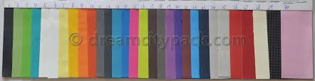 Faux Color Chart Custom Zippered Faux Leather Pouch Wholesale