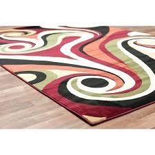 orange and green area rugs modern swirls area rug modern rug red green orange cream mix orange and green area rugs