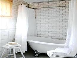 clawfoot tub shower curtain tub shower curtain rod for home tub shower curtains clawfoot tub shower