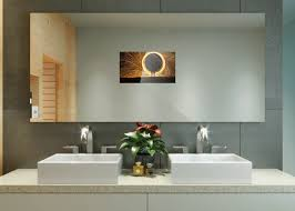 tv in bathroom. each mirrovue is made to size and comes complete with mirror, tv mounting. contact us for more information direct ordering. we ship worldwide. tv in bathroom
