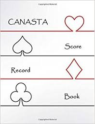 Canasta Score Record: Canasta Game Record Keeper Book Card, Sheet ...
