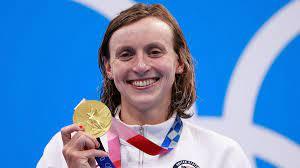 Swimmer Katie Ledecky Ends Gold Medal ...