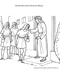 The Parable Of The Talents The Minas The Parables Of Jesus