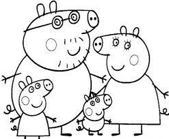Il Meglio Di Disegni Da Colorare Gratis Per Bambini Peppa Pig