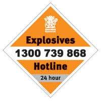 Reporting Explosives Incidents Business Queensland