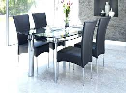 dining tables coaster glass dining table rectangular image of choose top tables fascinating room