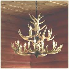 lovely deer horn chandelier elk horn chandelier deer antler chandelier kit how to make elk intended