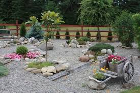 rock garden designs for front yards with good rock garden