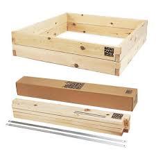 4x4x11 raised garden bed kit
