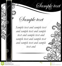 Invitation Template Stock Illustration Illustration Of