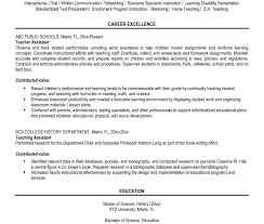 Objective For Teacher Resume Lecturer Resume Sample Pdf Exampleaching Resumes Elementary 86