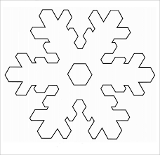 Snowflakes Template Pdf 3d Cut Out Templates Tutorial All Occasion Card Or