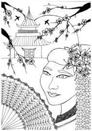 Kleurplaten Voor Volwassenen Japan Mama Maai