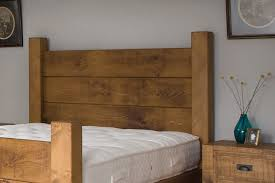 Plank Bedroom Furniture The Merchants Plank Bed Handcrafted By Indigo Furniture