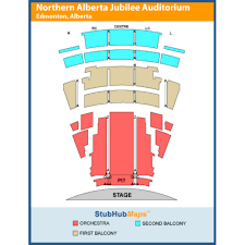 Jubilee Seating Chart Edmonton Northern Alberta Jubilee Auditorium Events And Concerts In