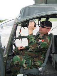 AFM officer in Croatia air base inspection