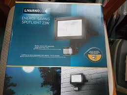 Lidl Livarno Lux Outdoor Energy Saving Garden Security Spotlight
