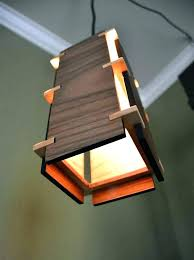 wood light fixtures rustic