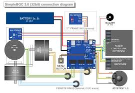 is there a wiring diagram for the thumb joystick select as you can see the outputs from the joystick will go to the a1 a2 a3 inputs on the alexmos board you would plug the vrx vry outputs from the thumb joystick