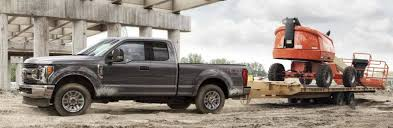 2018 Ford Truck Towing Capacity Chart How Much Can The 2018 Ford F Series Super Duty Tow