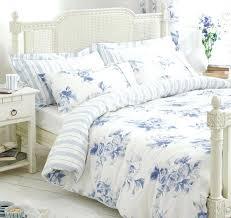 blue white bedding blue white bedding bed linen fl stripe reversible duvet cover or curtains blue blue white bedding